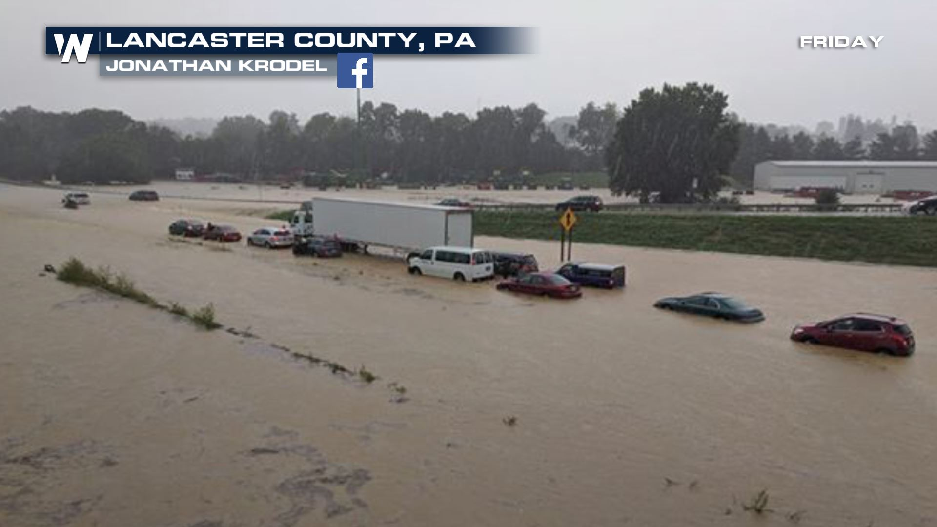 Flash Flood Emergency Issued in Pennsylvania