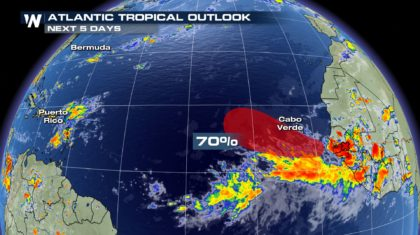 Atlantic Has a High Chance of the Next Tropical System