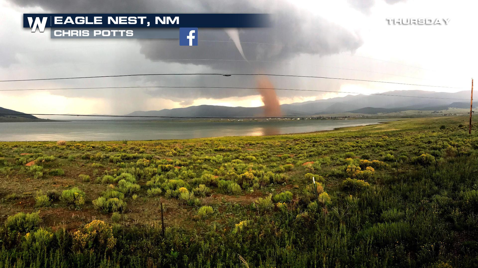 A Tornado in New Mexico, Really?