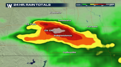 Kansas Flooding Responsible for Two Deaths