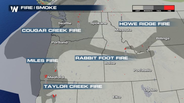 Smoky Skies Across the Country