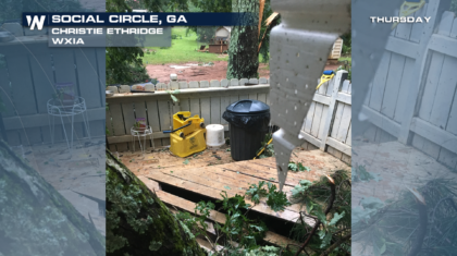 EF-1 Tornado Confirmed Near Atlanta