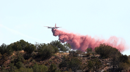 Battling Wildfires From The Sky... Water Vs. Retardant