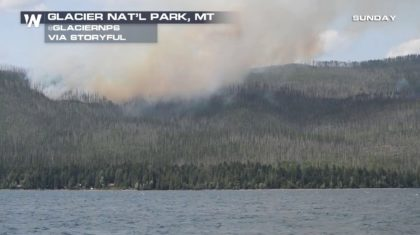 Wildfire in Glacier National Park Prompts Evacuations