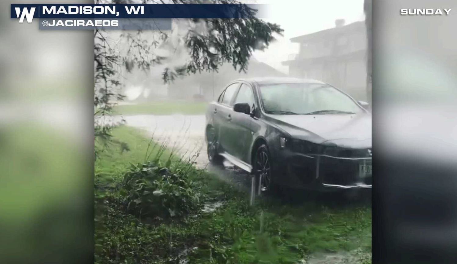 Heavy Rain Potential Bring a Flooding Threat in Wisconsin