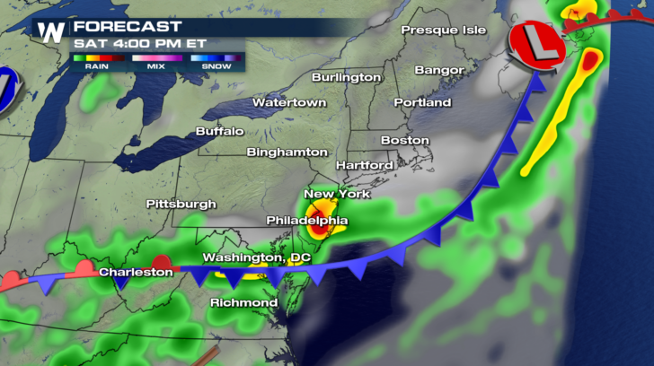 More Rain Headed To The Northeast    Severe Storms Possible