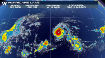 Hurricane Lane May Threaten Portions of the Hawaiian Islands This Week