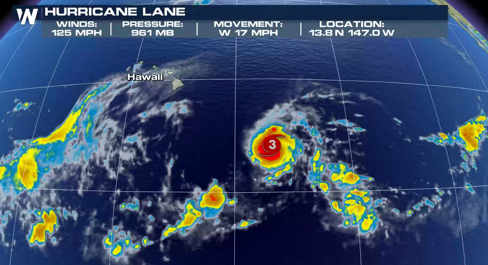 Hurricane Lane May Threaten Portions Of The Hawaiian Islands This