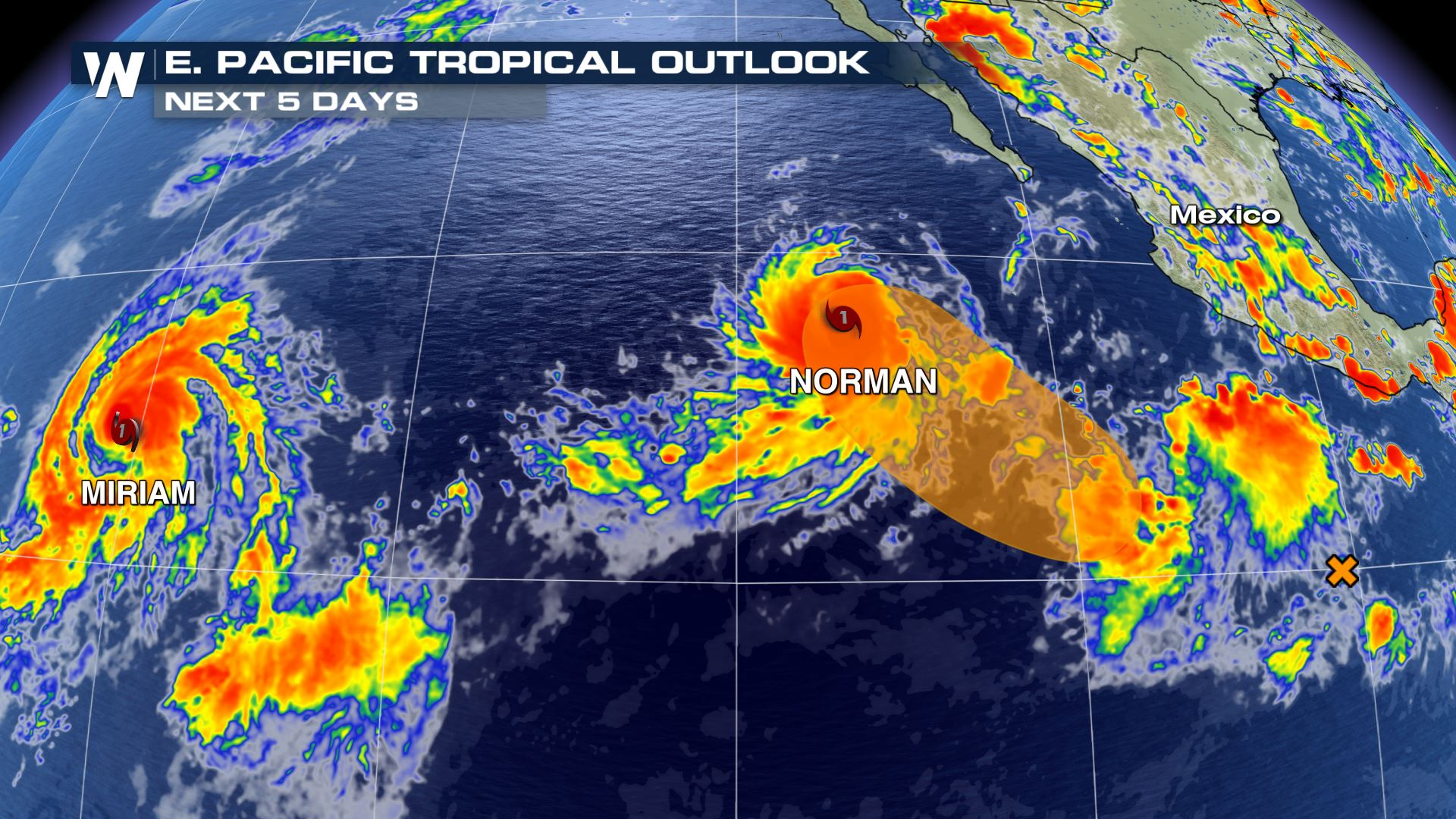 More Hurricanes Form in the Eastern Pacific