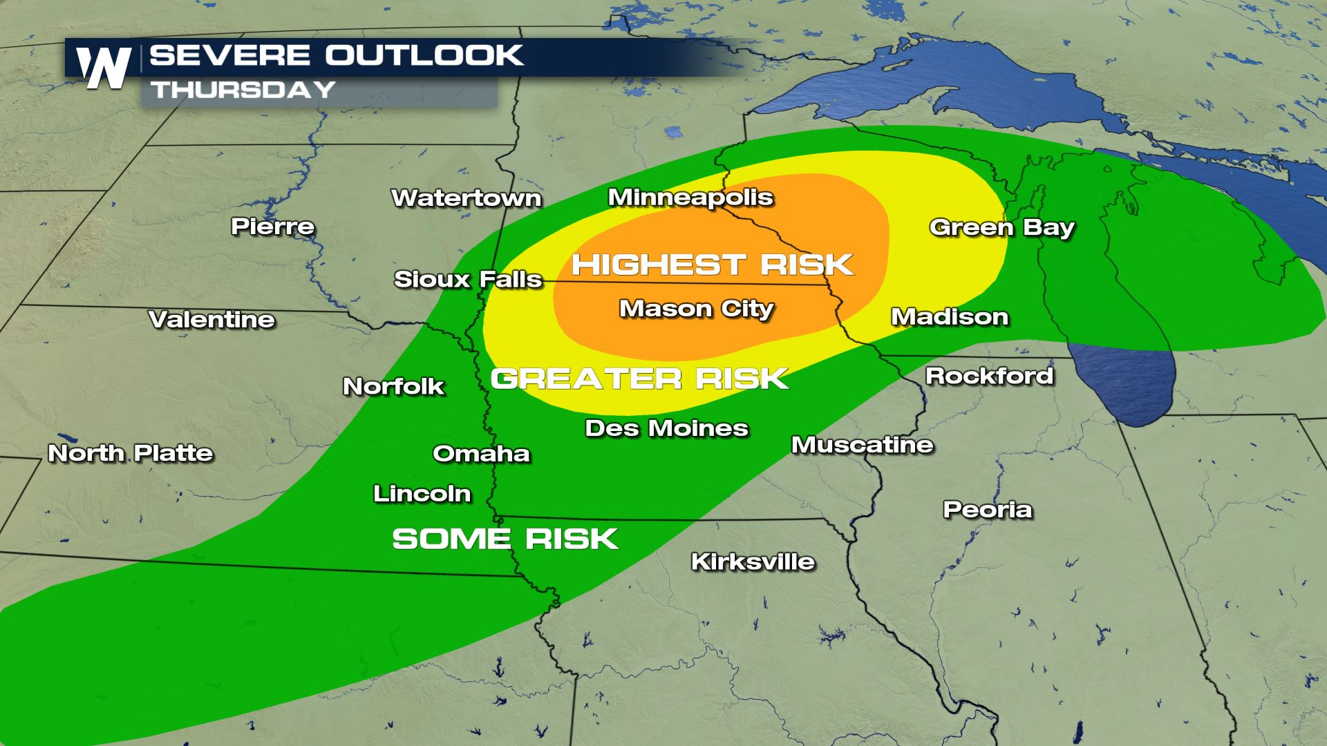 Severe Weather, Flooding for Upper Midwest