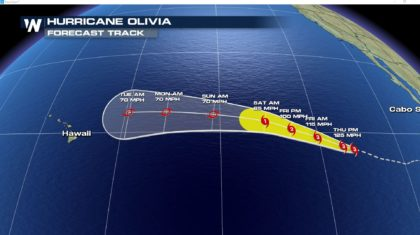 Norman Moves Away From Hawaii, Olivia Moves In