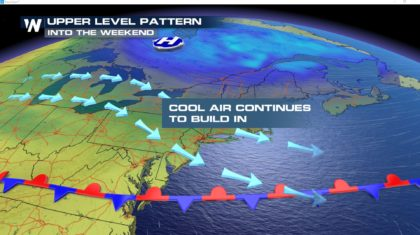 Cooler Northeast After a Day of Record Heat