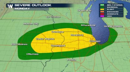 Severe Chances to Start October
