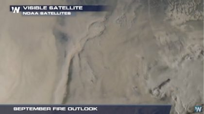 September Fire Outlook: Above Normal for Much of West