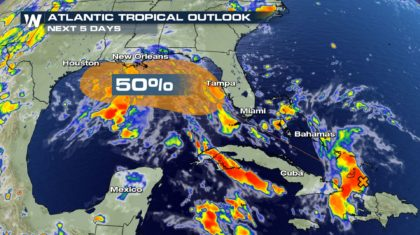Gulf Coast on Watch for Possible Tropical Development