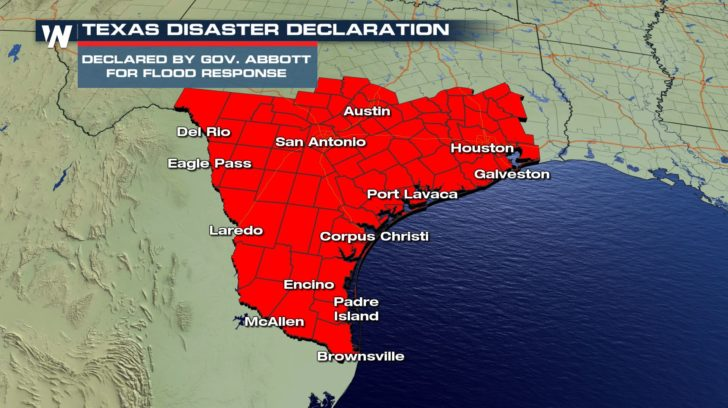 Disaster Declaration Due To Tropical Disturbance