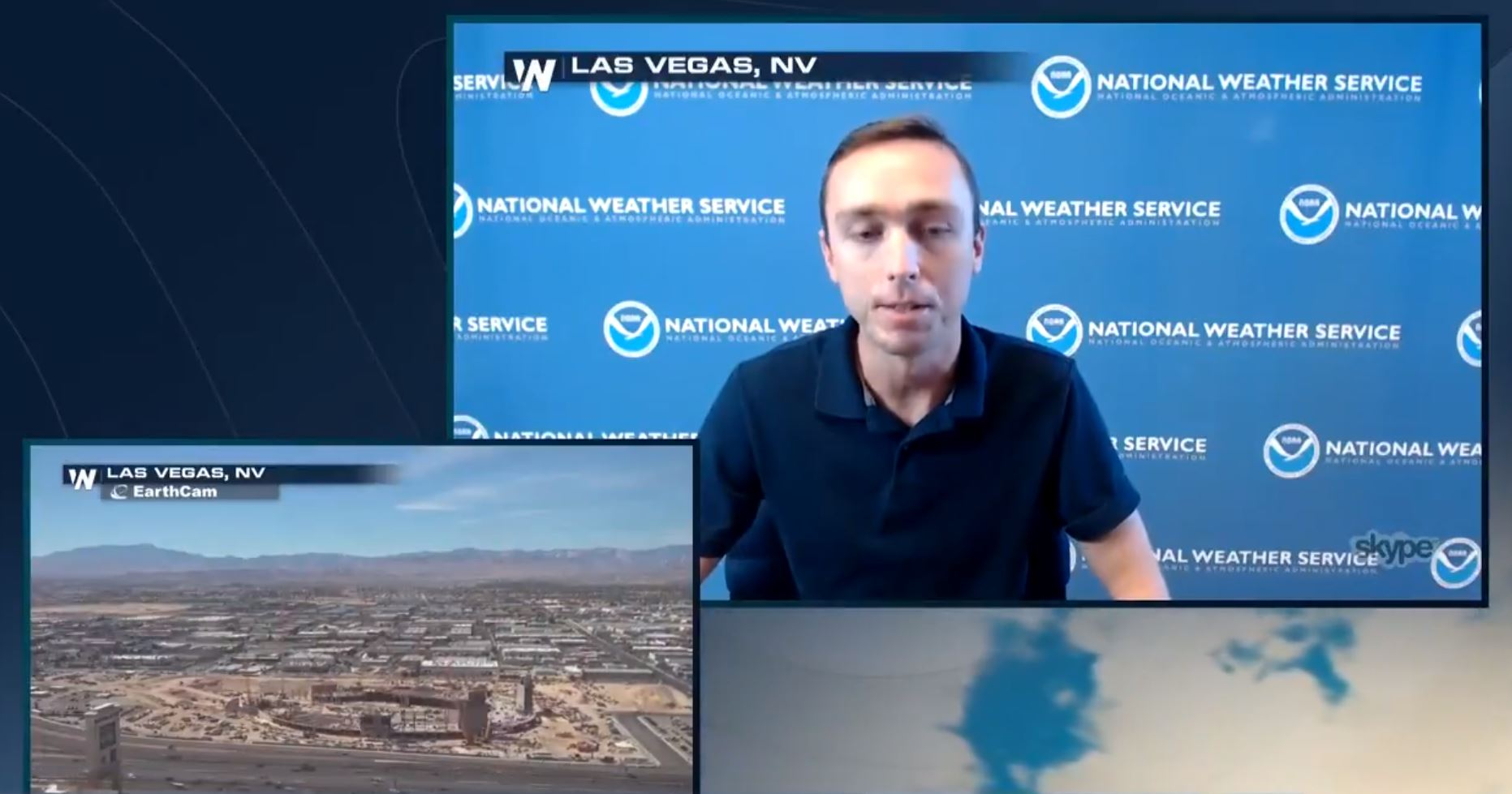 NWS Las Vegas Gives Local Advice Before Rosa