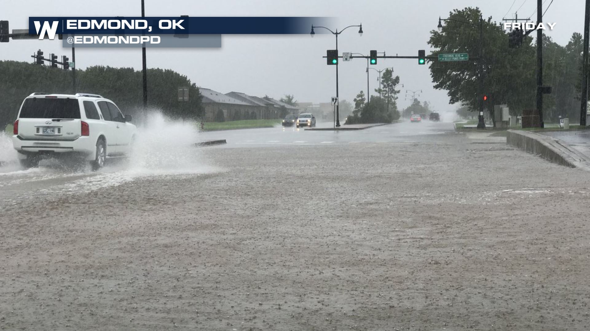 Flood Emergency, Water Rescues Sweep Across Oklahoma