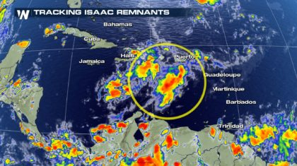 Isaac Dissipates, Could Redevelop in the Caribbean