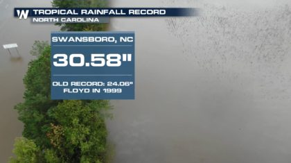 State Rainfall Record Shattered