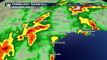 Rain for the Lone Star State?