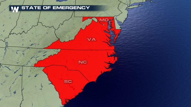 Evacuations Underway in Advance of Florence