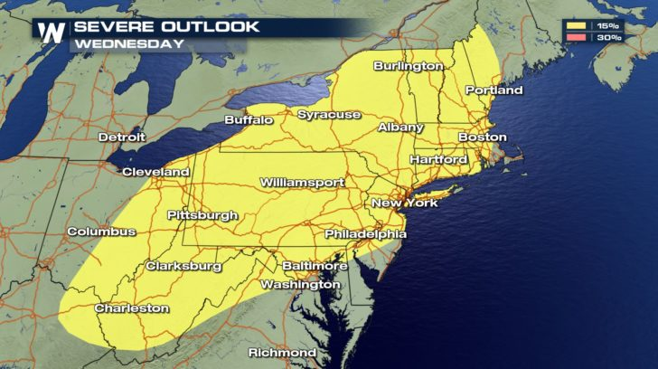 Next Fall Front: Severe Storms & Tumbling Temperatures