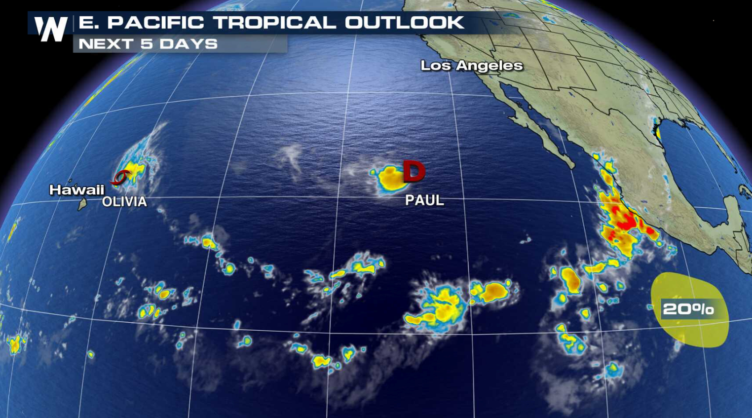 Tropical Storm Alerts in Hawaii Ahead of Olivia - WeatherNation