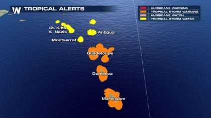 Isaac Poses a Threat to the Lesser Antilles This Week
