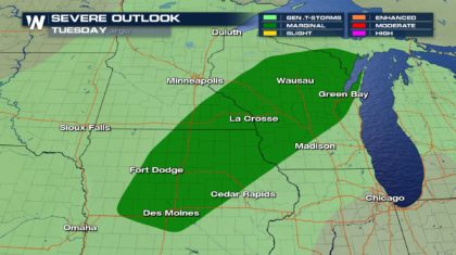 Severe Weather Continues to Plague Upper Midwest