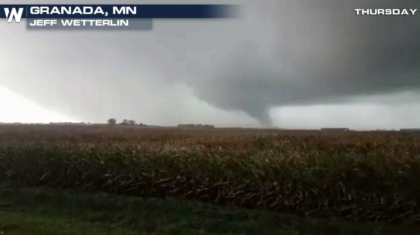 Multiple Tornadoes Reported in Minnesota Thursday