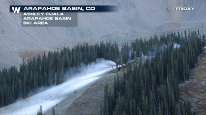 Snow Way! Colorado Ski Area Begins Making the White Stuff