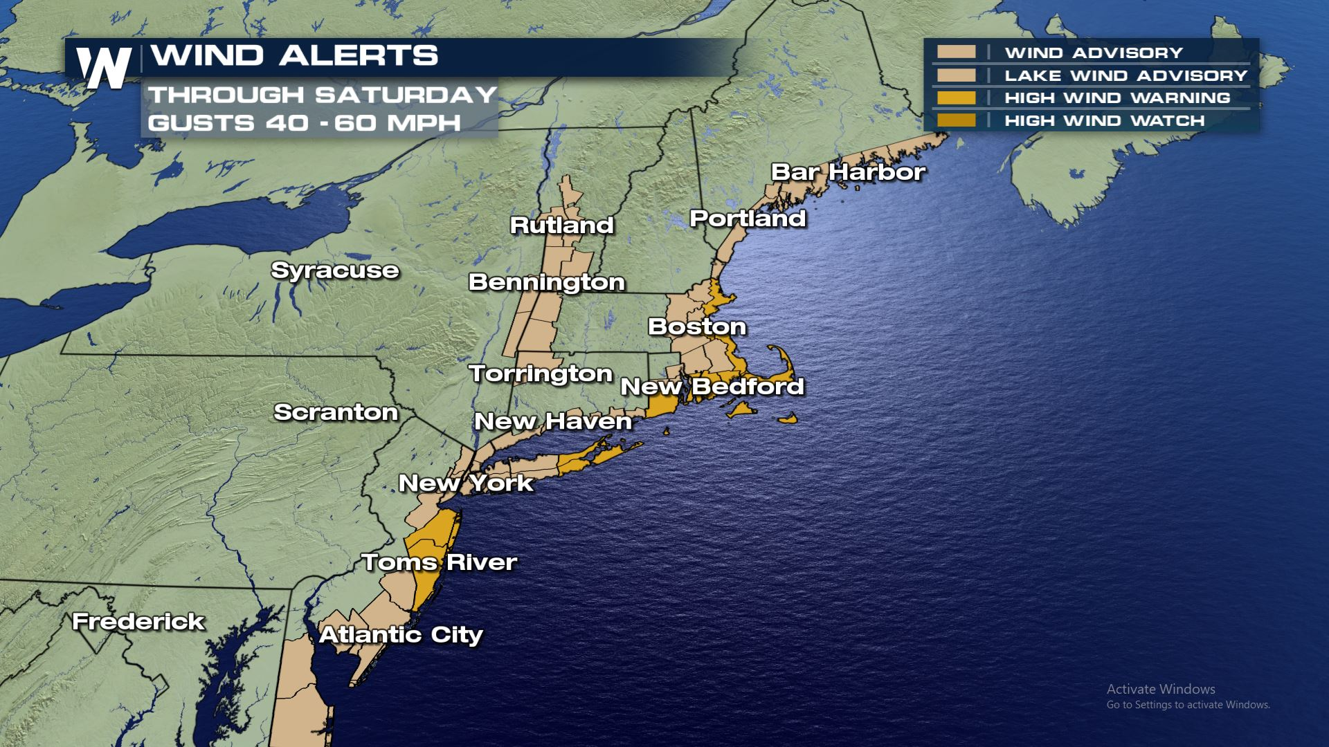 Latest Impacts of the Weekend Nor'easter - WeatherNation