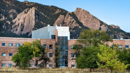 New Technology Research Projects Underway at NOAA in Boulder