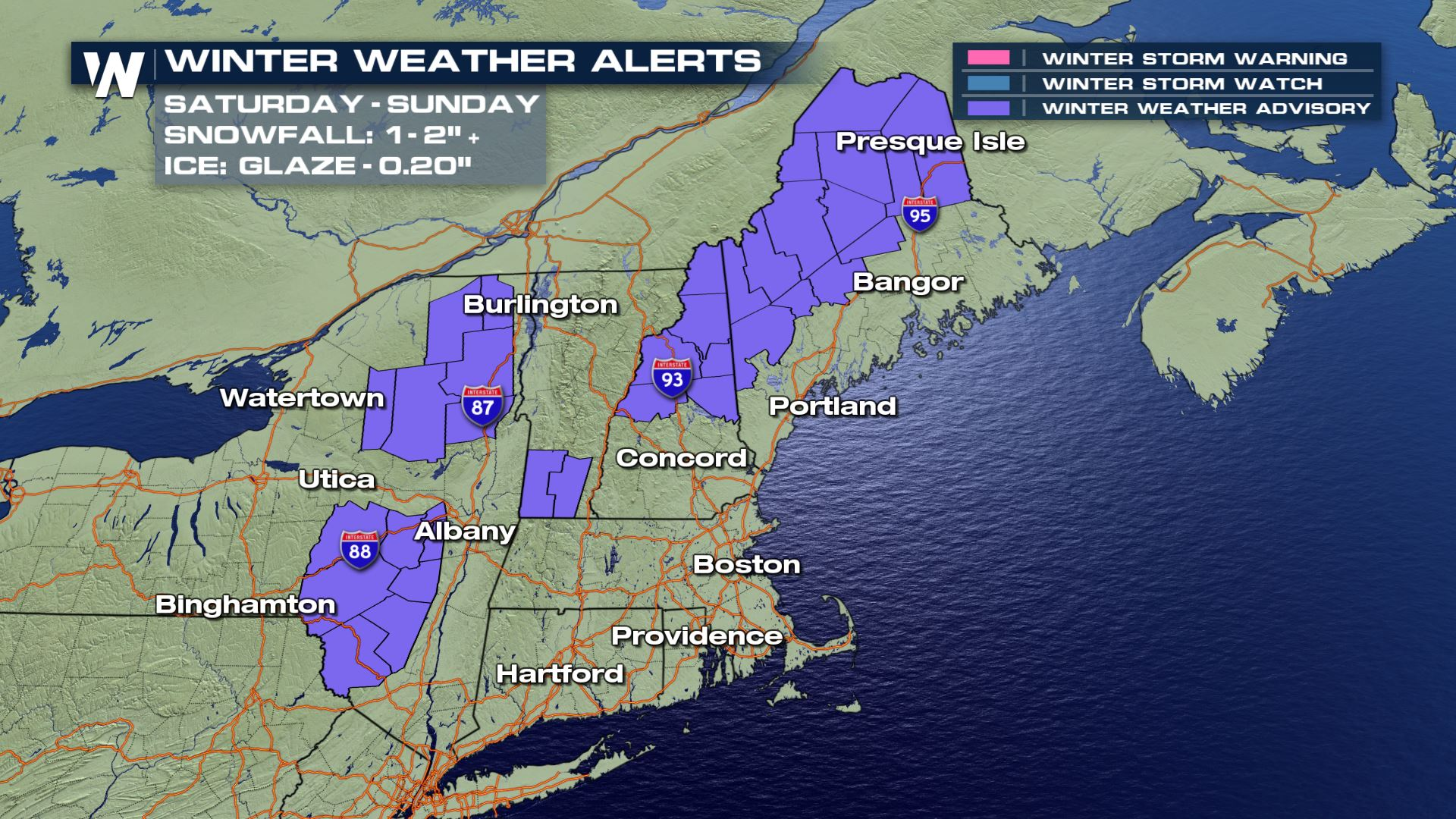 The Latest Alerts For The Nor'easter