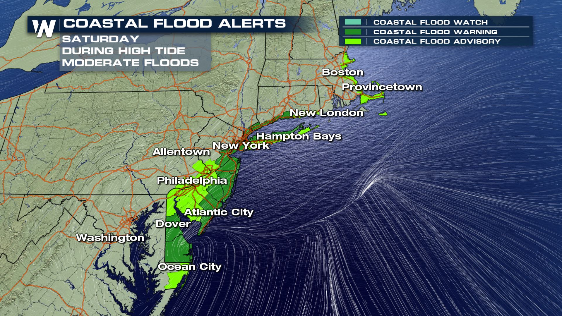 The Latest Alerts For The Nor'easter - WeatherNation