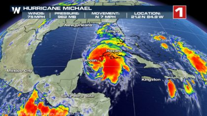 Michael Becomes a Hurricane, Expected to Make Landfall This Week
