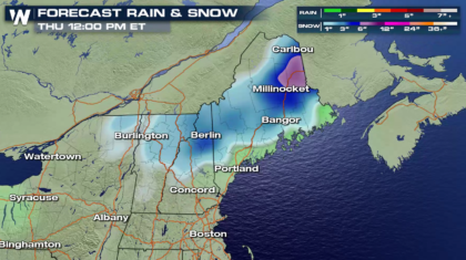 Significant Snow Ahead for Maine