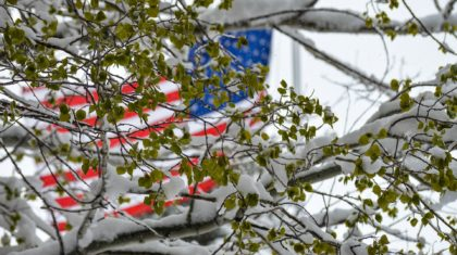 Wintry Weather Returns to New England