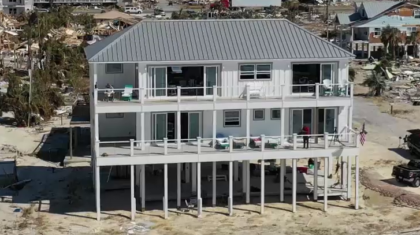 Built for the Big One: How One House in Mexico Beach is Still Standing