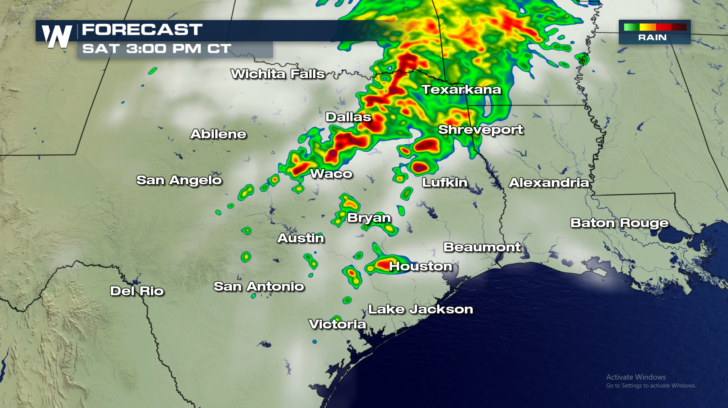 Severe Storms, Tornadoes, and Flooding Threats In Texas