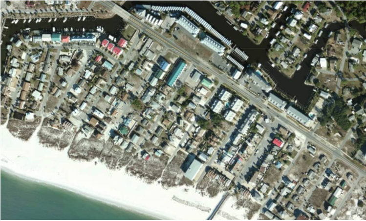 Hurricane Michael Before and After Damage Assessment Imagery