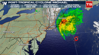 Michael No Longer Tropical, Moving Away From U.S.