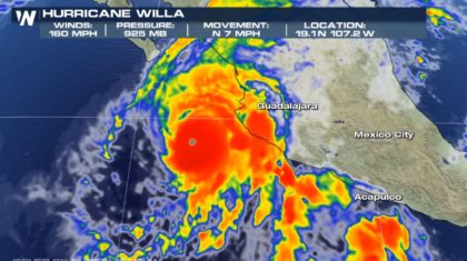 Willa Now a Category 5 Hurricane