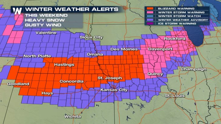 Blizzard Headed To The Midwest