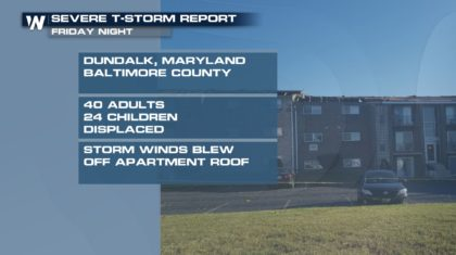 Tornadoes Confirmed in Maryland Friday Night