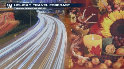 Thanksgiving Holiday Weekend Travel Forecast