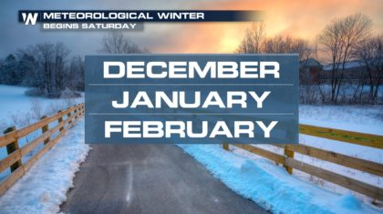 Welcome (Meteorological) Winter