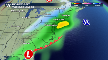 Another Nor'Easter On The Way For Early Next Week