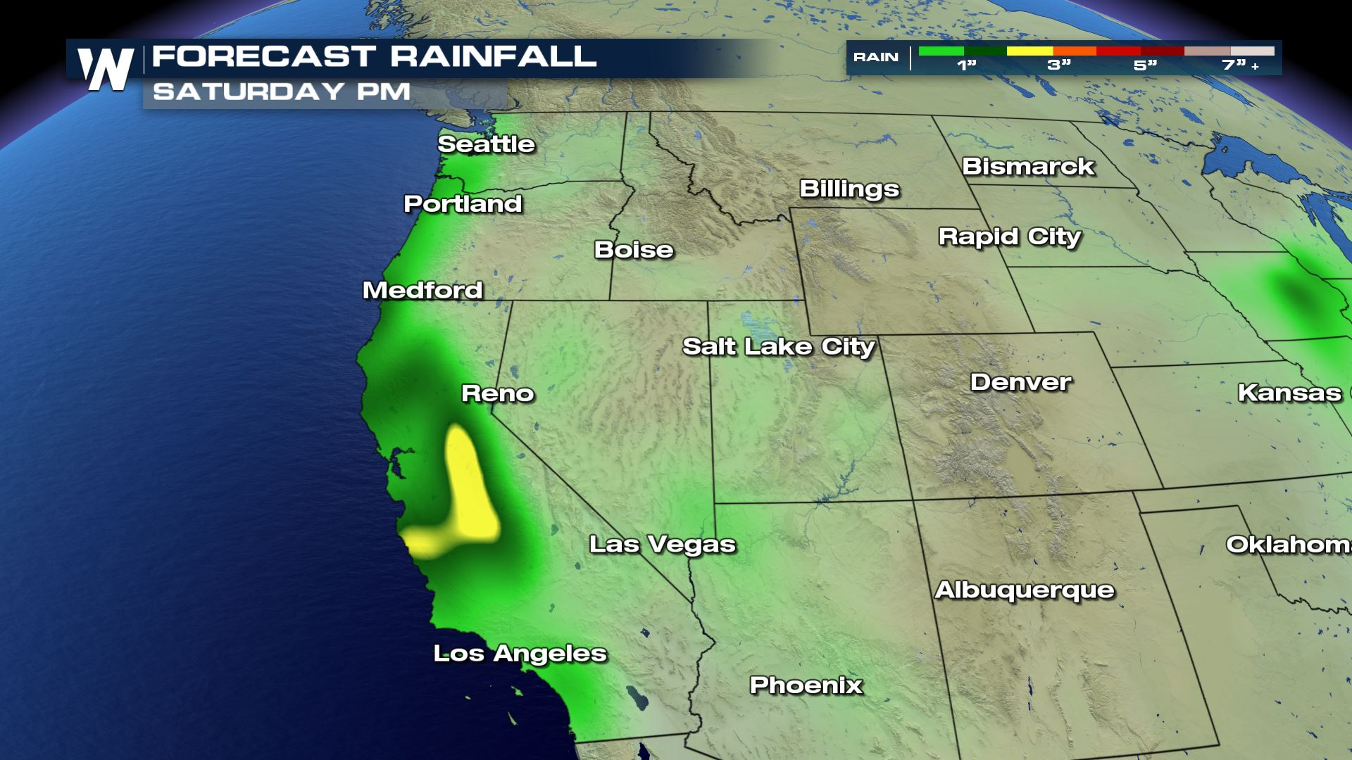 Soggy Forecast for the Northwest